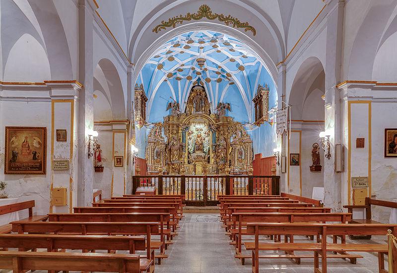 santuario de la misericordia en borja, aragón