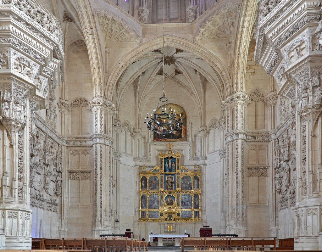 Monasterio de San Juan de los Reyes en Toledo, interior y retablo, turismo de proximidad