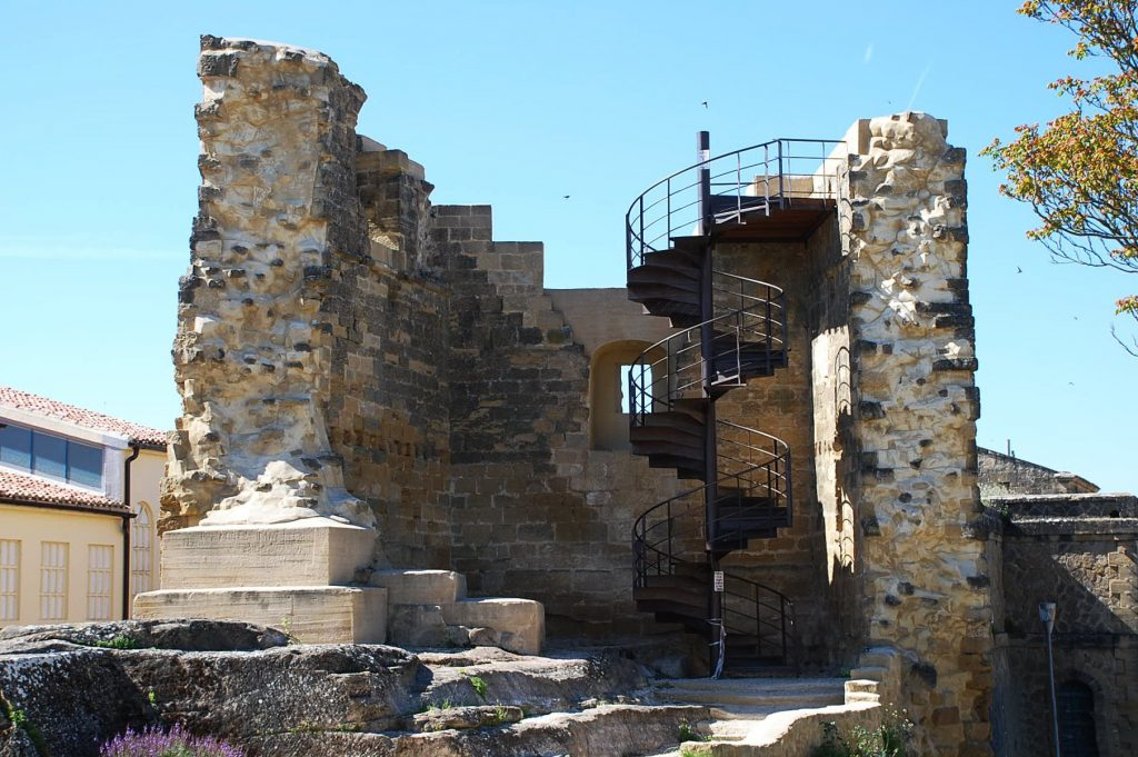 ruinas del castillo de Briones